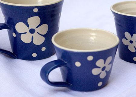 Flower Mugs | Judith Hobbs