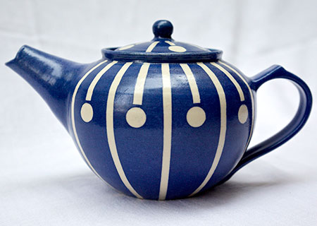 Teapot Stripe and Spot | Judith Hobbs
